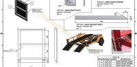 2500kg Flatbed Tilt Trailer - Trailer Plans - Build your ...