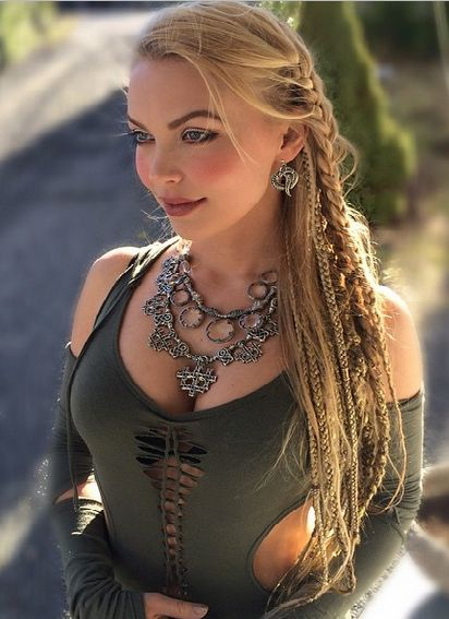424 Best Images About Viking Celtic Medieval Elven Braided