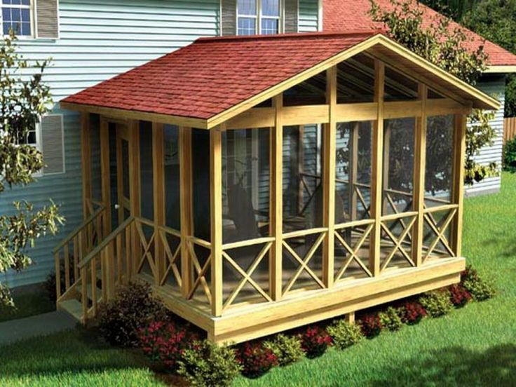 Outdoor , Cool and Unusual Backyard Deck Ideas : Covered