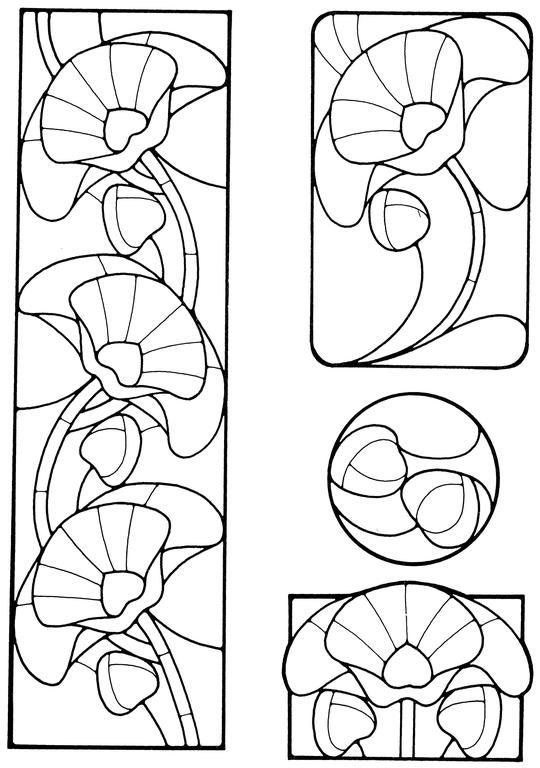 25+ best ideas about Art nouveau pattern on Pinterest