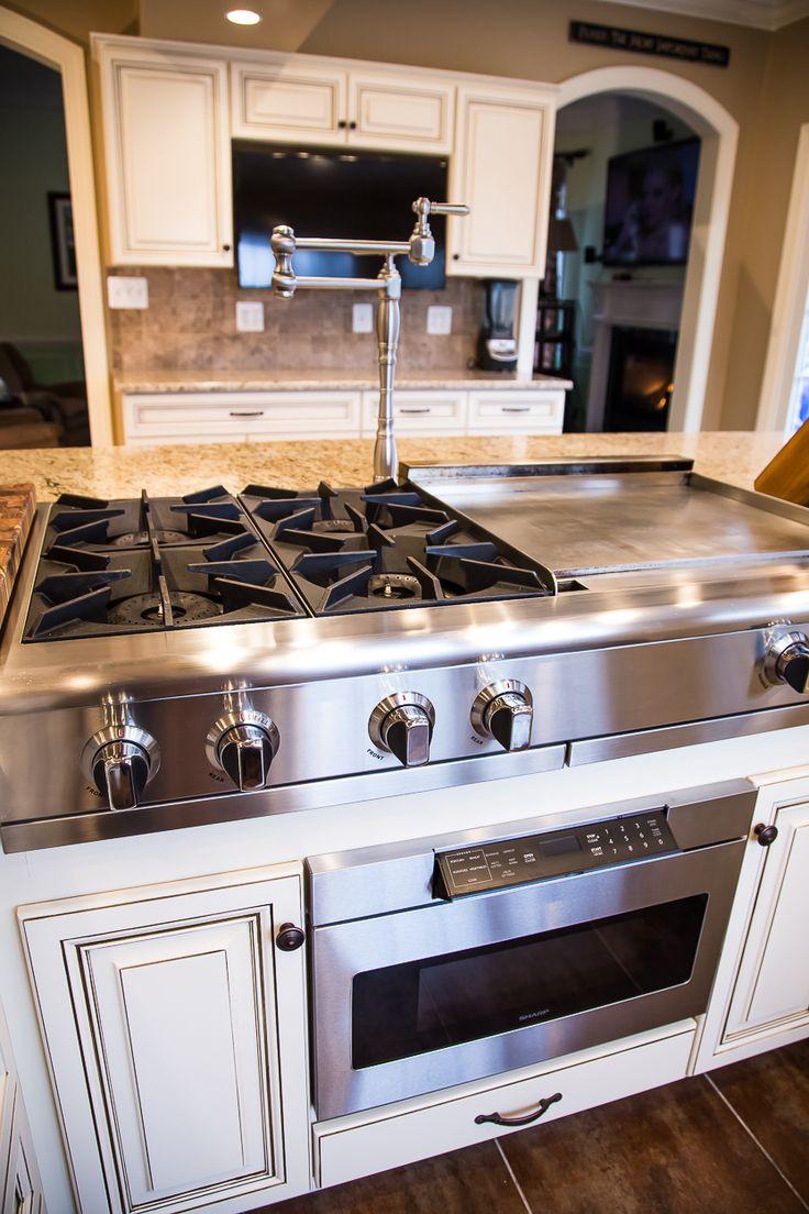 kitchen island seats 6 oak cabinets best 25+ stove ideas on pinterest