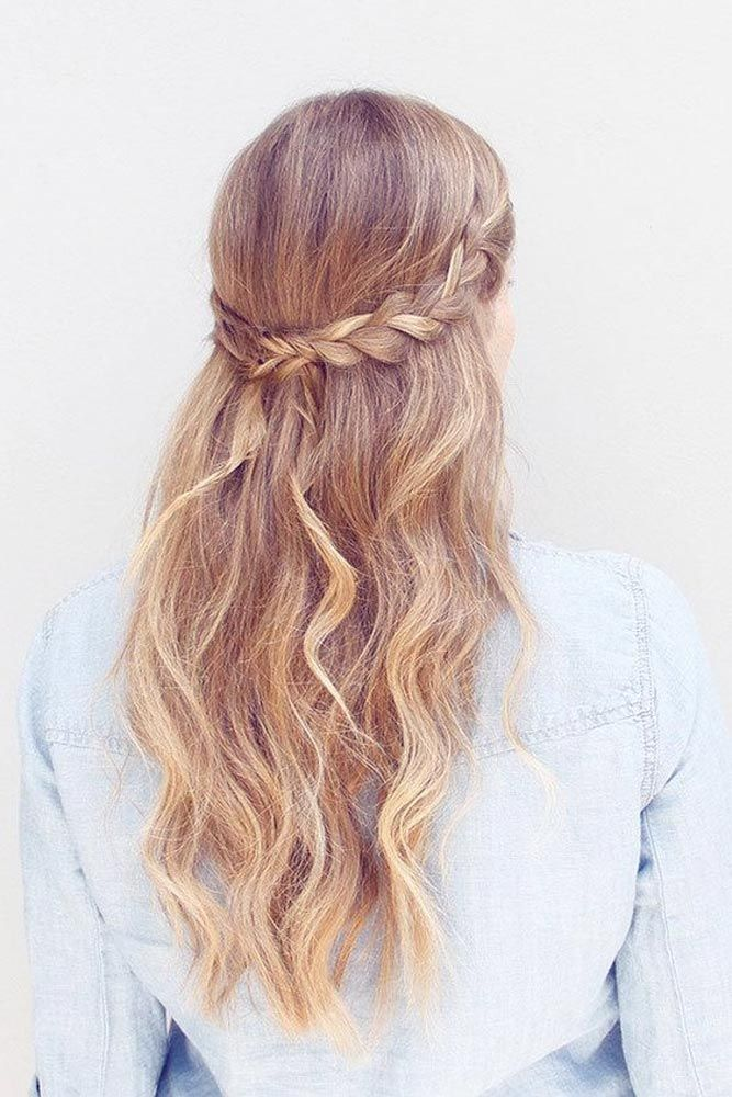 25 Best Ideas About Easy Homecoming Hairstyles On Pinterest