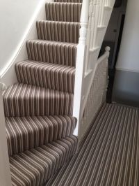 25+ best ideas about Striped Carpet Stairs on Pinterest