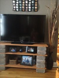 Cool idea DIY tv stand. | House and Home | Pinterest ...