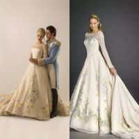 Top 25 ideas about Cinderella Wedding Dresses on Pinterest
