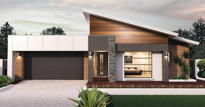 Design Eighteen Facade 1 From The Weeks And Macklin Homes Choice