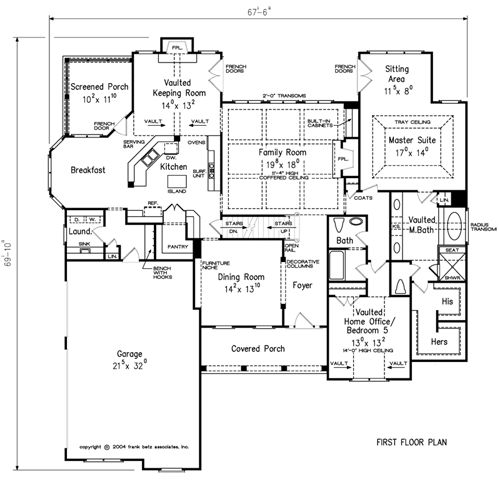 Home Plans and House Plans by Frank Betz Associates