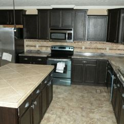 Mobile Home Kitchen Islands Back Splash Dv6803 - Deer Valley New And Used Single Wide Double ...