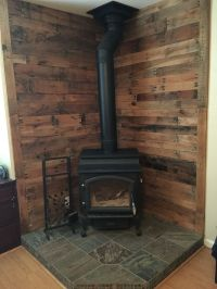 17 Best ideas about Wood Stove Wall on Pinterest | Small ...