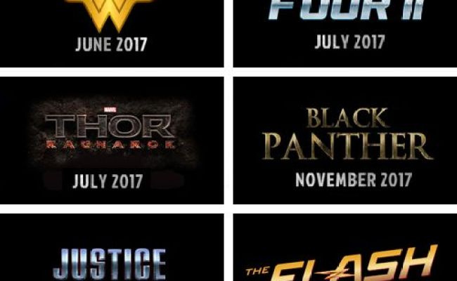 Marvel And Dc Movies From 2015 2019 I