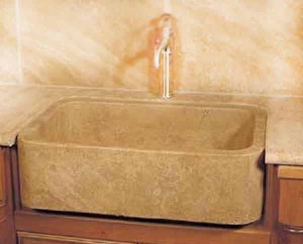 farmhouse kitchen cabinets hats for staff stone nm18756 30 x 18 durango travertine sink ...