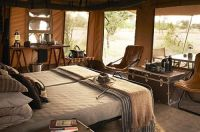I do like campaign furniture   {group} Glamping : Luxury ...