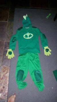 Pj masks gekko costume diy   Hallowen   Pinterest ...