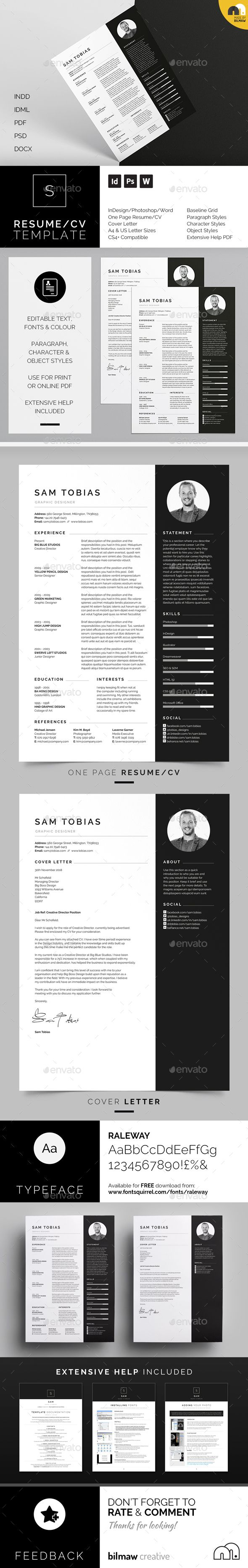 Best 20 Free Cover Letter Templates ideas on Pinterest  Simple cv template Modern resume and
