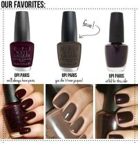 OPI, Fall nail colors and Nails on Pinterest
