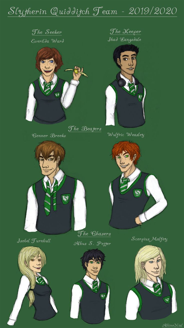 Very Sad Girl Boy Wallpaper Slytherin Quidditch Team By Albinonial On Deviantart