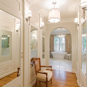Best 25 Walk through closet ideas only on Pinterest  Dressing room design Walk in and Build