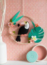 Best 25+ Felt wall hanging ideas on Pinterest   Felt ...