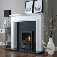 1000+ ideas about White Electric Fireplace on Pinterest