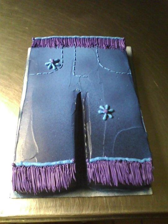 Blue Jean Cake Cakes Cupcakes N B Days Pinterest