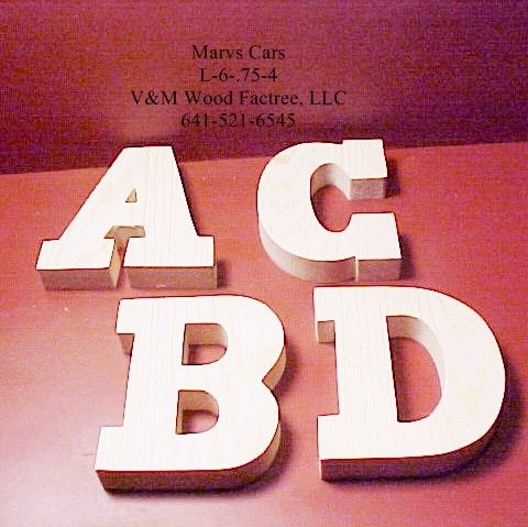 Scroll Saw Templates Letters WoodWorking Projects & Plans