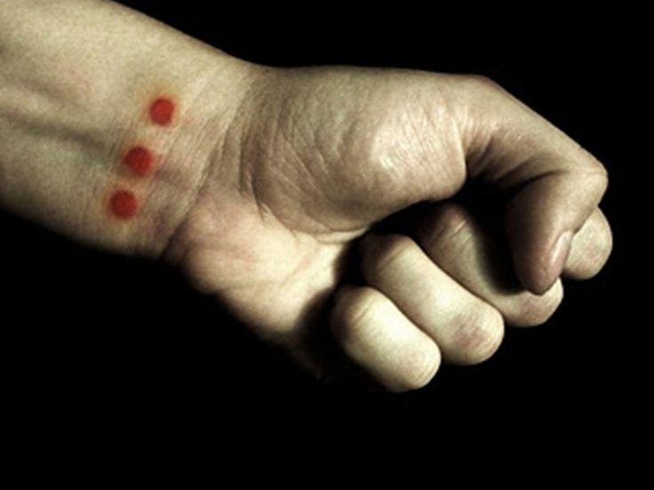 Gang Tattoo Three Dots Celebrity Plastic Surgery Photos