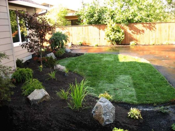 easy landscaping ideas front
