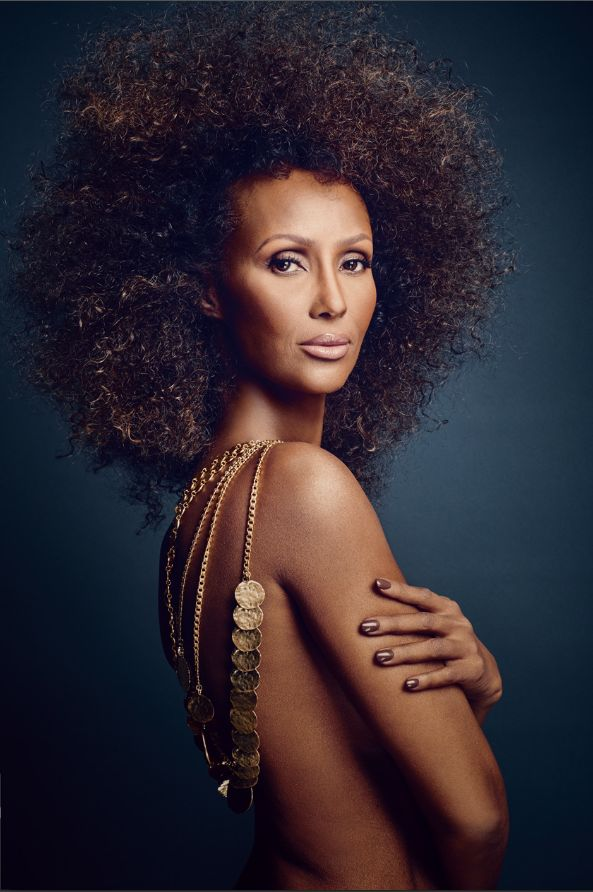 Supermodel iman images | Scene Magazine Pay Homage to Supermodel Iman