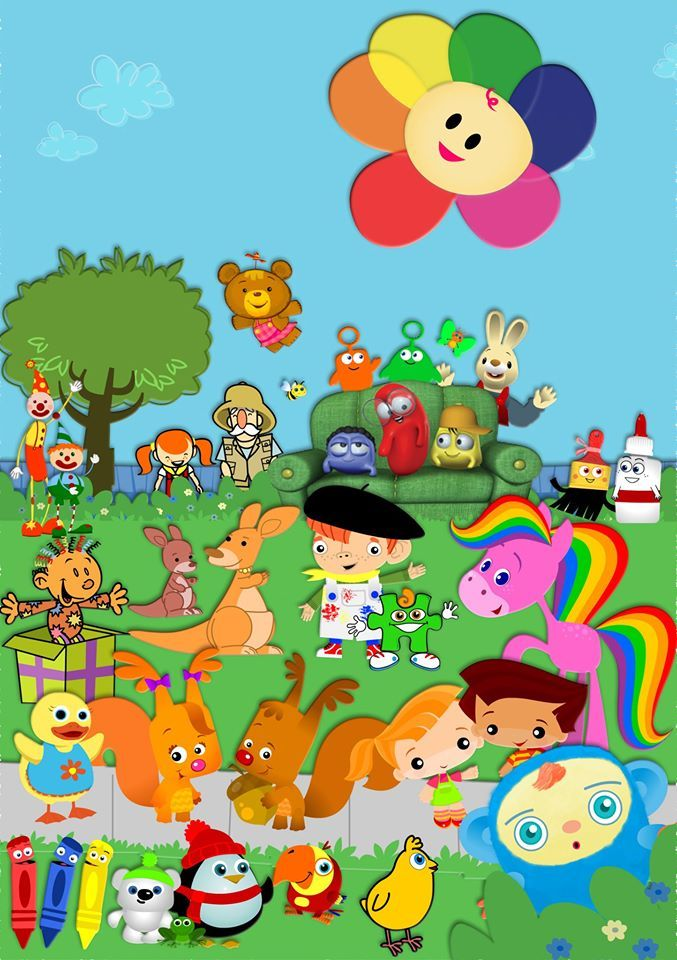 Introducing Baby first TV characters Ill name a few for you guys There so cute  funny