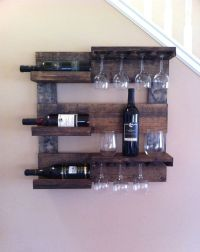 25+ Best Ideas about Rustic Wine Racks on Pinterest | Wine ...