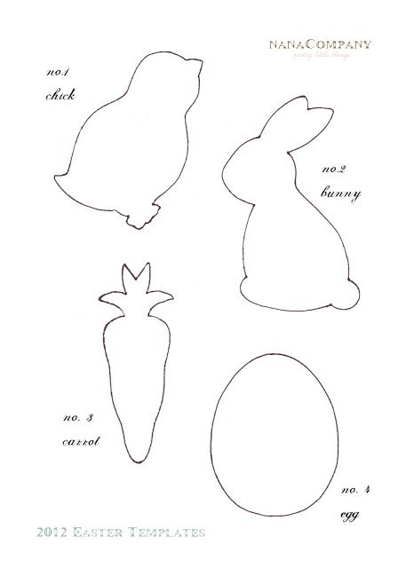 25+ best ideas about Easter templates on Pinterest