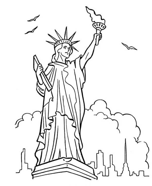 Great Bluebonkers Armed Forces Day in Statue of Liberty
