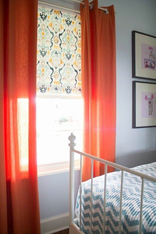 25 Cheap Makeover Ideas for Basic Vinyl Roller Shades  Apartment therapy