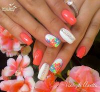 The 25+ best ideas about Hawaiian Flower Nails on ...