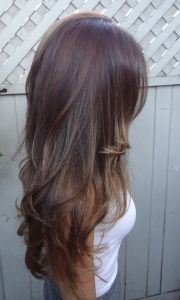 brunette hair styles long