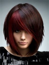 funky hair color | Hair Color Ideas For Brunettes: Cool ...