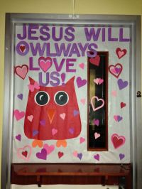 February School Door Decoration