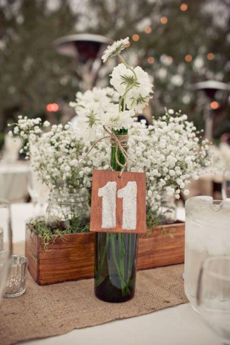 Numeros de mesa / Bodas rústicas / Eventos rústicos / Ideas originales para bodas / Decoraciones bodas / Rustic weddings /: