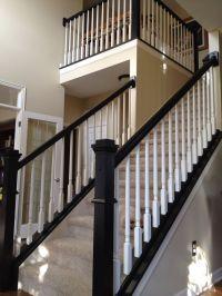Top 25+ best Painted stair railings ideas on Pinterest ...