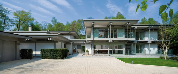 Huf Haus Love The Flat Roof Interior Space Pinterest Flats