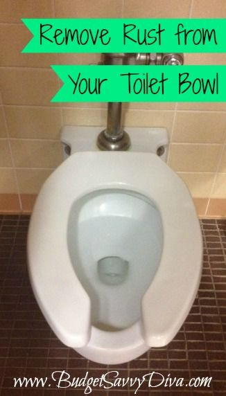 Remove Rust from Toilet Bowl  Budget Tips  Pinterest