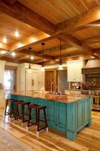 Best 25+ Log home kitchens ideas on Pinterest | Log cabin ...