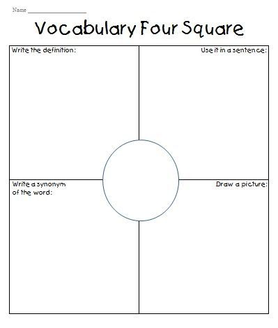 The 25+ best ideas about Four Square Writing on Pinterest