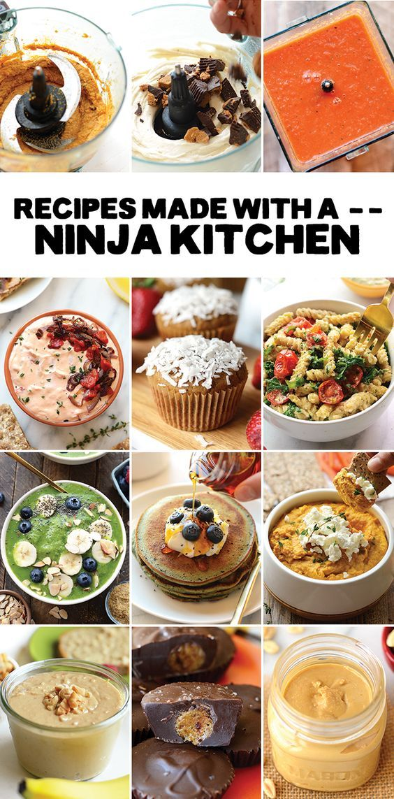 Ninja Blender Recipes Food Processor