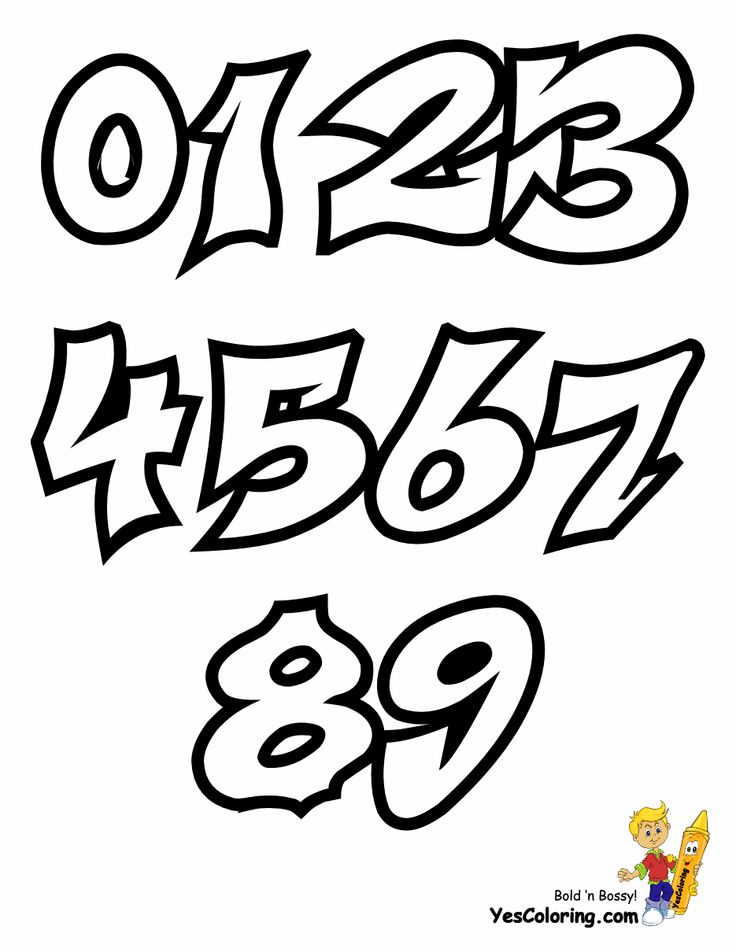 Free fearless Graffiti Coloring Pages you can print out