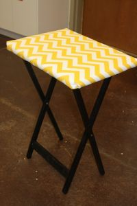 How To Make a TV Tray Ironing Board | American Quilting ...