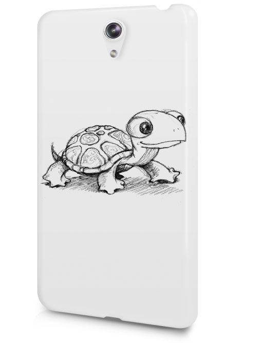 Cute Art Drawing Animal Zoo Pet Turtle Sketch Case Cover