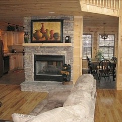 Log Cabin Living Room Decorating Ideas Tv Mounting Height 44 Curated Kitchen By Sineadwiley | Eat In ...