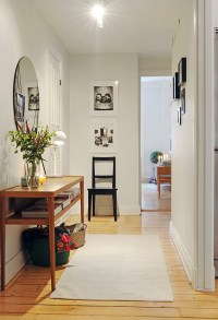 FRONT HALLWAY-Table and Mirror on Small Wall | For My Home ...