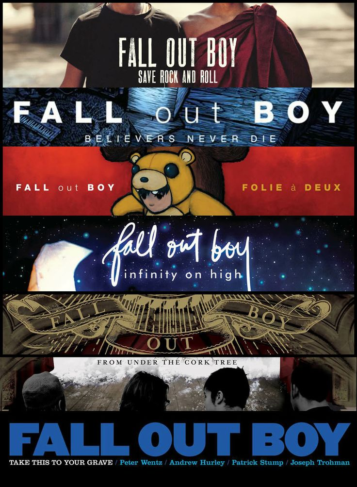 Fall Out Boy Believers Never Die Wallpaper Fall Out Boy S Album History So Far Save Rock And Roll